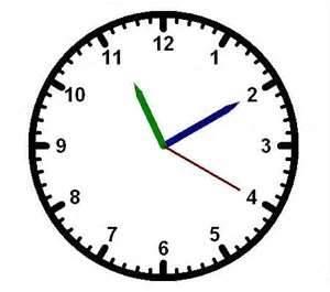 clock ticking